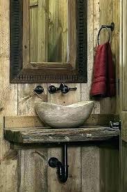 cabin bathroom ideas nicaea co