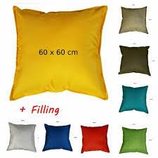 ikea hallo cushion black grey 62cm x
