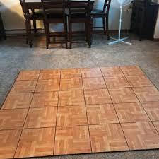 flooring over carpet temporary ideas