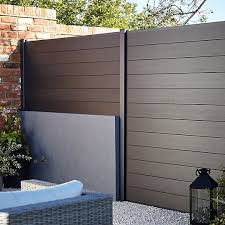 Blooma Neva Composite Fence Slat W 1790mm H 155mm Pack Of 3 Fence Slats Wooden Fence Panels Patio Fence