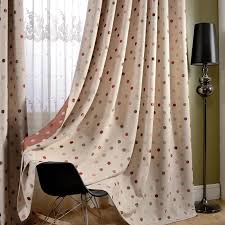 Yarn Dyed Jacquard Polka Dot Blackout Curtains For Bedroom Red Dot Curtains For Girl S Room Thick Window Drapes For Kids Room Curtains Aliexpress