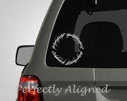 Tolkien Car Decal Etsy