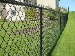 China Pvc Coated Galvanized Iron Wire Mesh Chain Link Fence China Fence Gate Chain Link Fence
