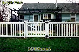 Vinyl Fence Upright Fence Of Westland Michigan