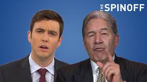 Winston Peters call Jack Tame