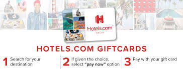 hotels redeem your gift card