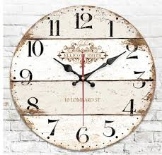 020398 wooden wall clock 12 14 16 inch
