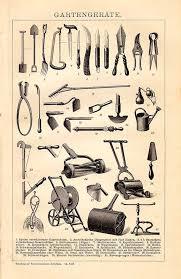 original 1895 antique lithography print