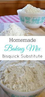 homemade bisquick type baking mix
