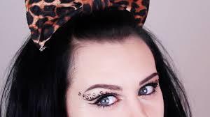 leopard print makeup tutorial