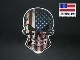Punisher Aluminum Us Flag Sniper Car Decal Sticker Ships From Florida Ebay