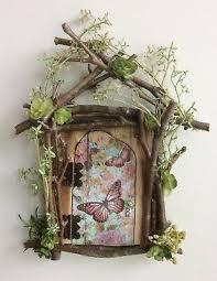 Fairy Door That Opens Crystal Door Knob Tiny Keys Ebay