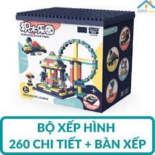 Đồ chơi Bộ xếp hình khối lắp ráp ghép mô hình nhiều chi tiết cho trẻ từ 6  tuổi - Hộp nhựa mã Enli2901 KamiToy