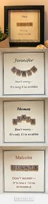 personalised gifts scrabble birthday