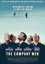 The Company Men. The story centers on a year in the life of three men  trying to survive a round of corporate downsizing at a major company - and  how that aff…