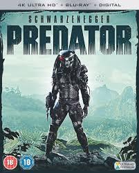 predator 4k ultra hd blu ray arnold