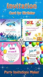 Tarjetas De Cumpleanos Invitacion Para Fiesta For Android Apk