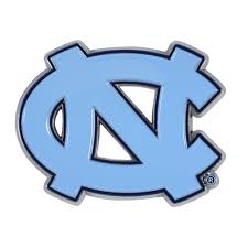 University Of North Carolina Unc Tarheels Colored Metal Car Auto Emblem Decal For Sale Online Ebay