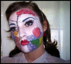 scary rag doll makeup saubhaya makeup