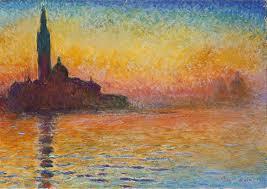 San Giorgio Maggiore al crepuscolo di Monet: analisi