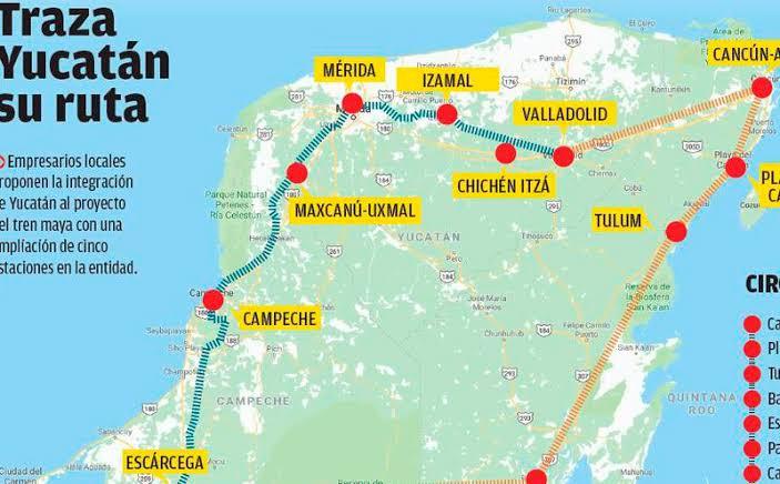 """Resultado de imagen para tren maya ruta"""""""
