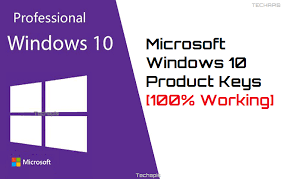 Free Microsoft Windows 10 Product Keys {100% Working} | TECHAPIS ...