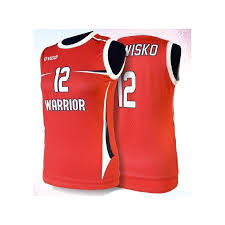 Koszulka meczowa damska WARRIOR - VCOMPRESSION+ - VIGO - stroje sportowe i  sprzęt dla każdego