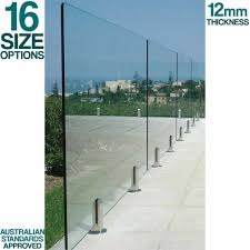 Freedom Glass Pool Fence Panel 900x1200mm For Sale Online Ebay