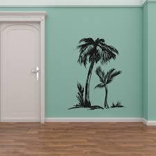 Bay Isle Home Palm Tree Silhouette Wall Decal Wayfair