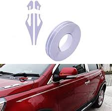 Amazon Com Pme 12mm 0 5 Pinstripe Pinstriping Pin Stripe Decals Vinyl Tape Stickers For Cars Silver Gray Automotive