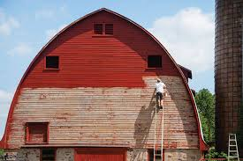 how to paint a barn hobby farms
