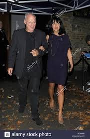 David Gilmour and Polly Samson, at Paul McCartney and Nancy Stock Photo -  Alamy