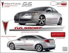 Decals Stickers For Pontiac G6 For Sale Ebay