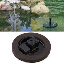 water pump garden fountain floating
