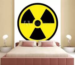 6 808 Radioactivity Signs Nuclear Atomic Wall Murals Canvas Prints Stickers Wallsheaven