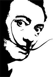 Dali S Look Character Wall Decal Tenstickers