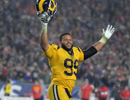 Aaron Donald Ranked as Best Player in the NFL