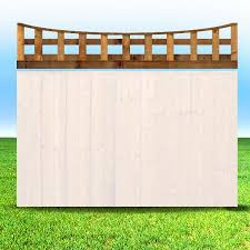 Concave Trellis Tops Ainsley Fencing