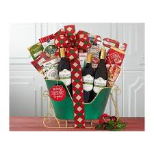 seattle holiday wine gift baskets free