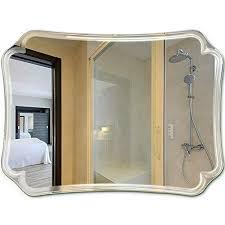 ye zi mirror bathroom frameless vanity