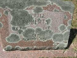 Myrtle McBride Roberts (1906-1956) - Find A Grave Memorial