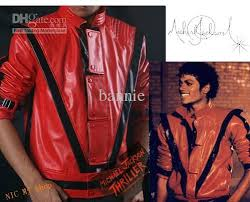 michael jackson thriller jacket costume