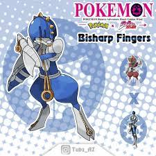 Pokemon X Jojo: Bisharp fingers