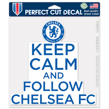 Chelsea Fc Official Premier League 8 Inch X 8 Inch Perfect Cut Car Decal By Wincraft Walmart Com Walmart Com