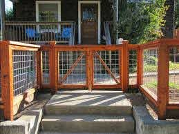 17 Awesome Hog Wire Fence Design Ideas For Your Backyard Fence Design Front Yard Fence Building A Fence