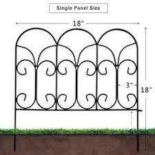 Buy Rust Proof Folding Metal Fence Online Decorative Metal Fence Amagabeli