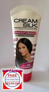 1 cream silk standout straight