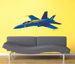 F A 18 Hornet Blue Angels Marines Decal Attack Fighter Bomber Airplane