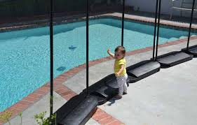 No Holes Pool Fence Las Vegas Requires No Drilling