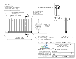 Superior Plastic Products Inc Cad Vinyl Railing And Fencing Arcat